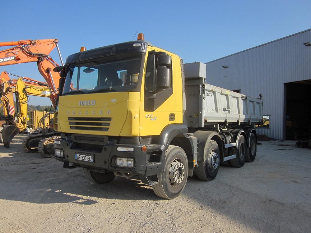 IVECO 410 Euro4 Trakker - 8x4 benne (1)